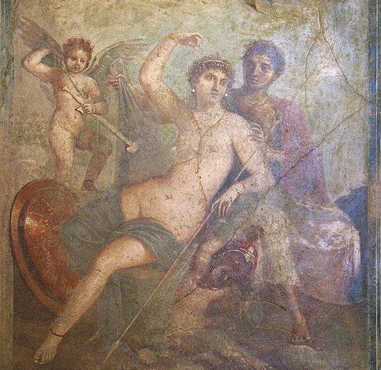 Afrodite e Ares