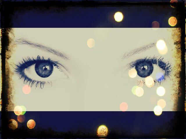 I suoi occhi dentro ai miei